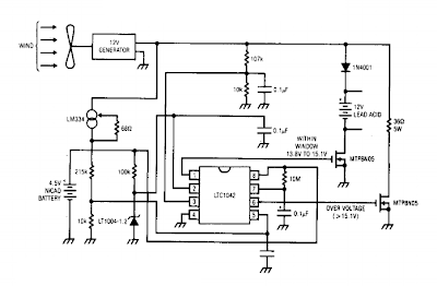 Simple Wind Battery Charger Circuit on ez wiring 12 circuit