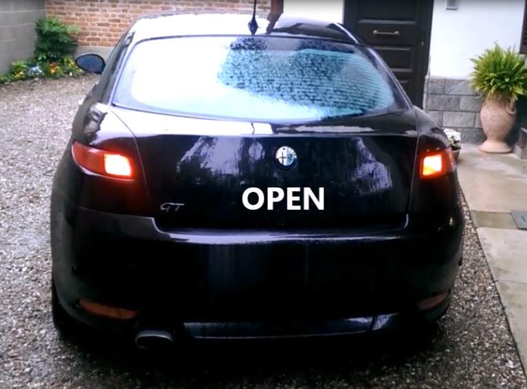 Plafoniera Auto Fai Da Te : Io faccio così alfa romeo gt accensione luci ad apertura auto