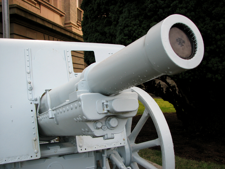 Field Gun at the Courthouse