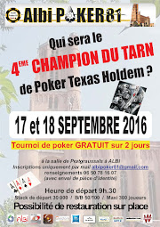 Tournoi Champion du Tarn 2016