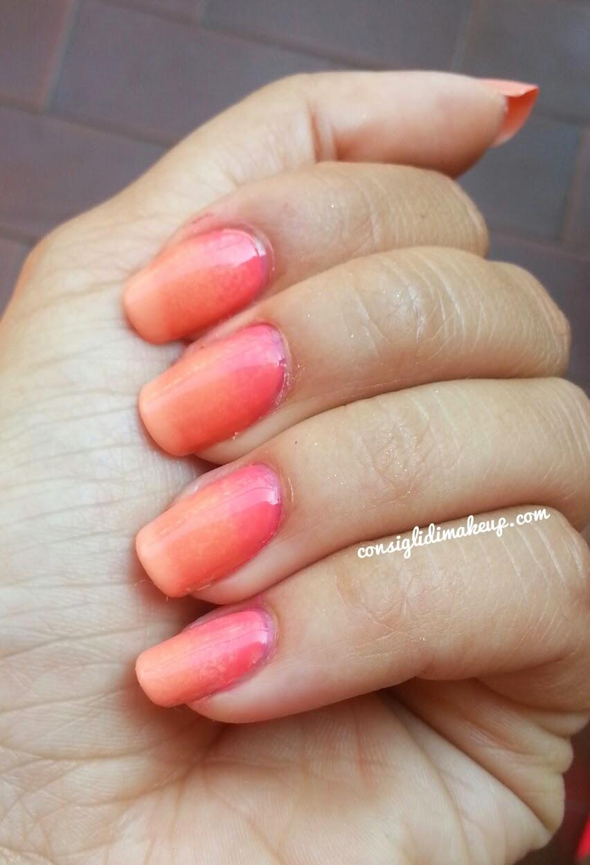 tutorial nail art sfumato