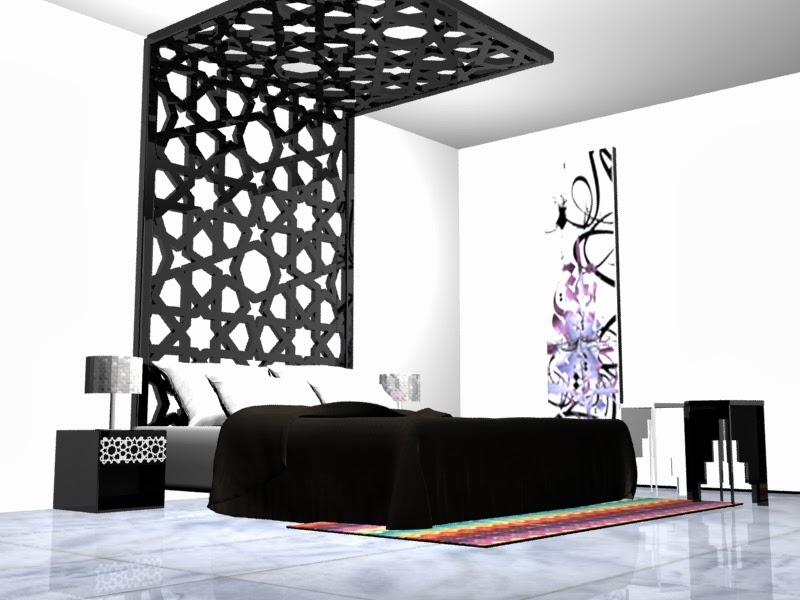 Islamic Modern Design  Decortinas