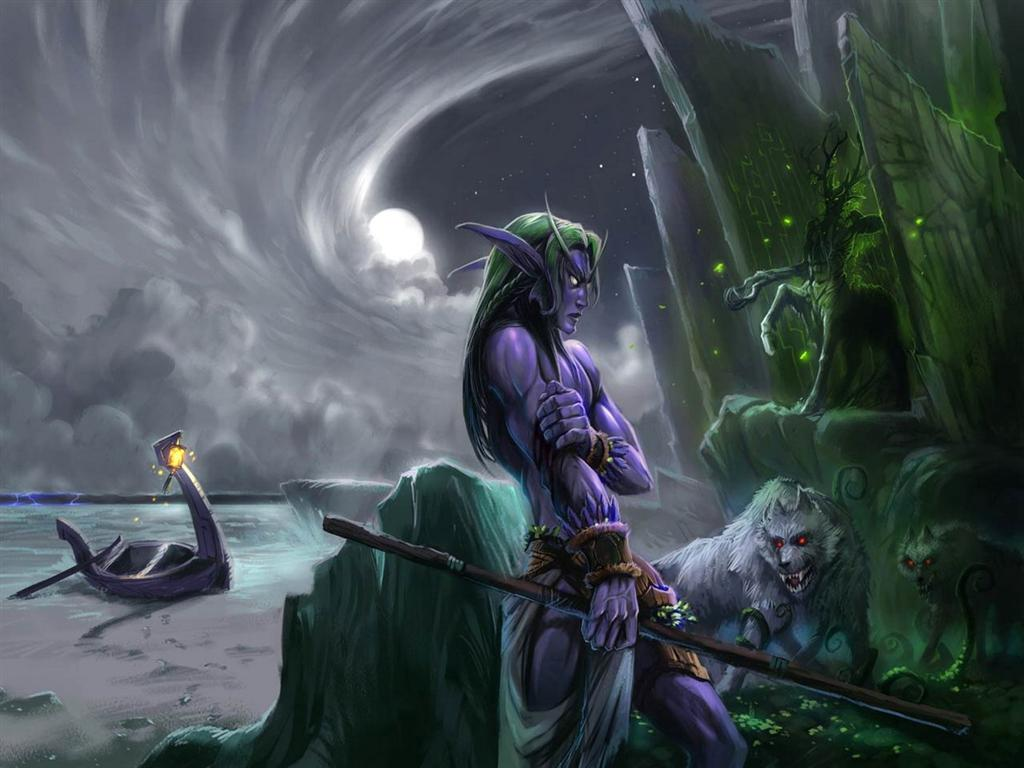 World of Warcraft HD & Widescreen Wallpaper 0.218914768464403