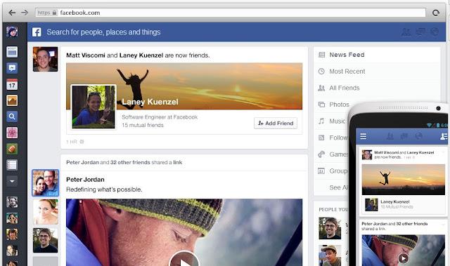 الشكل الجديد للفيس بوك وكل المعلومات الخاصة به | The New Facebook