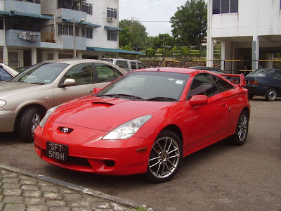 Singapore registered stock Toyota Celica