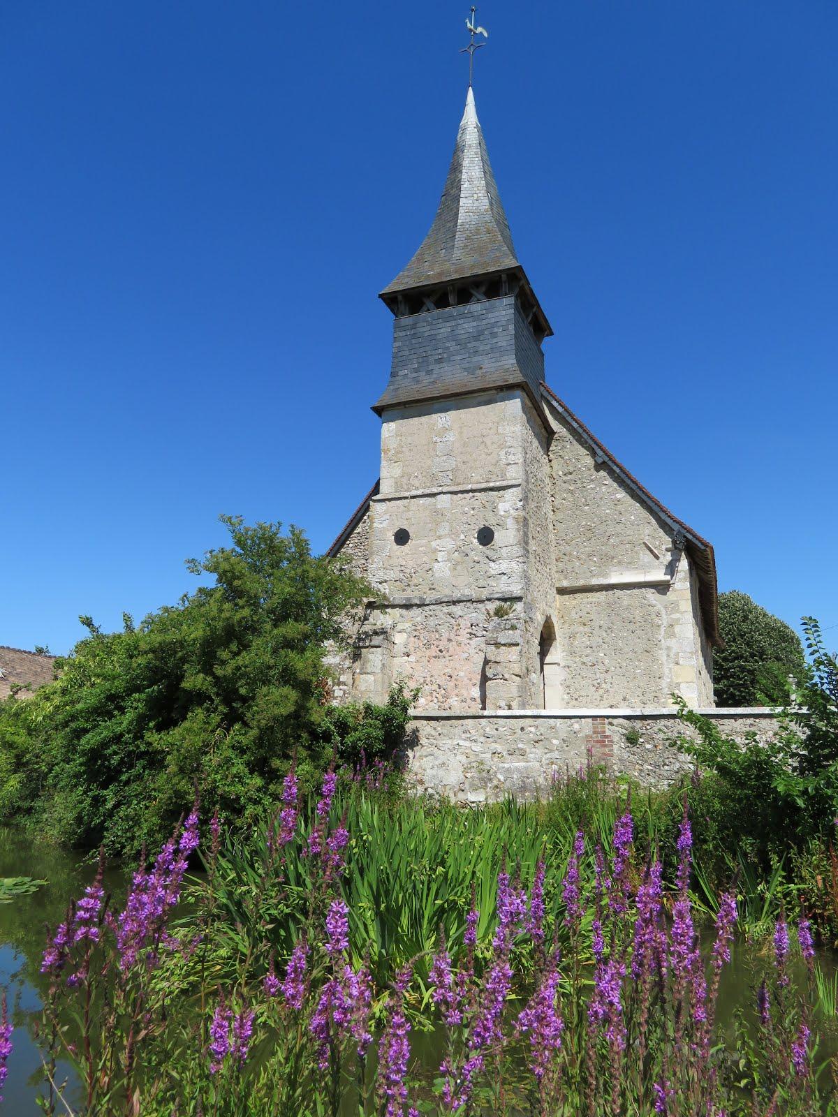 L'église de Corny