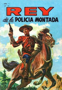 REY DE LA POLICIA MONTADA Nº 008