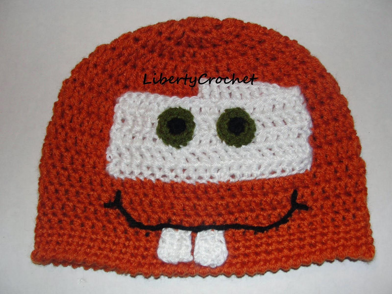 Libertycrochet tow mater hat tow mater hat bankloansurffo Choice Image