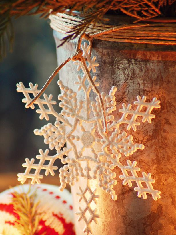 Rustic christmas table decorations - photo#17