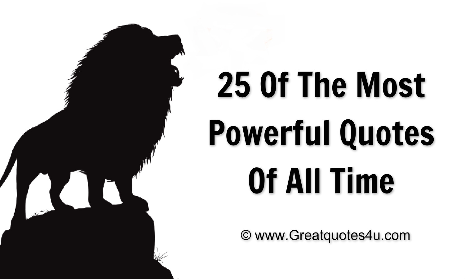 Powerful Quotes Gr8 Ppl  Gr8 Thoughts 25 Of The Most Powerful Quotes Of All Time