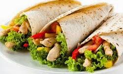 Resep Praktis dan mudah membuat makanan kebab ayam khas timur tengah enak