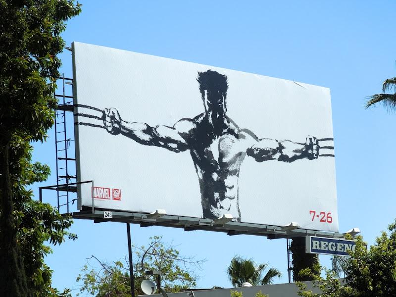 Wolverine teaser 2013 billboard
