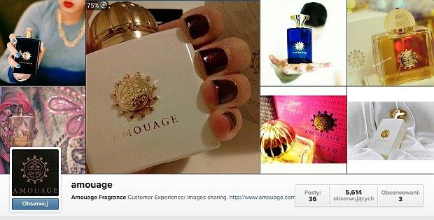 Instagram Amouage (nieoficjalny)