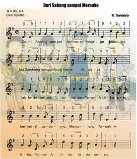 lagu dari sabang sampai merauke