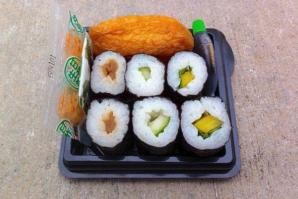 Vegan Sushi: Taiko Vegetable Sushi at Waitrose