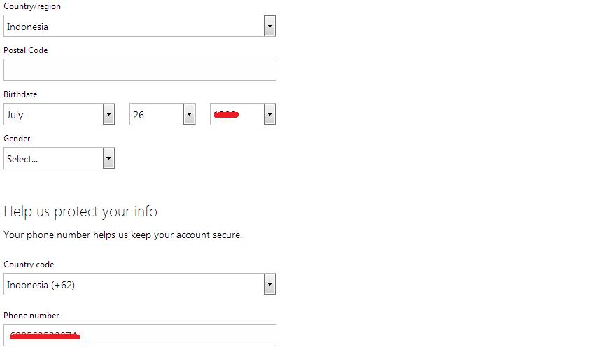 Cara daftar email di Microsoft Hotmail 2