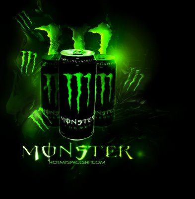 We talk about Monster and other energy drinks