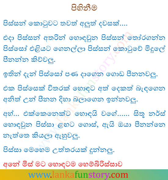 Sinhala Jokes-Swimming