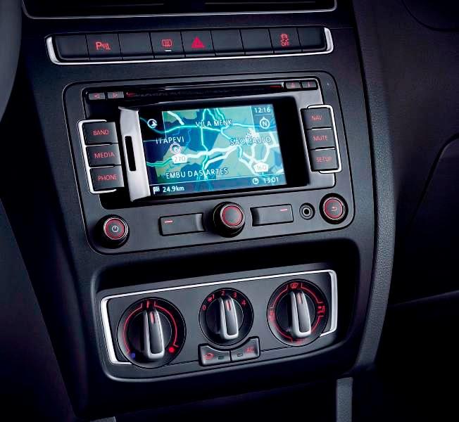 Novo Fox 2015 interior painel