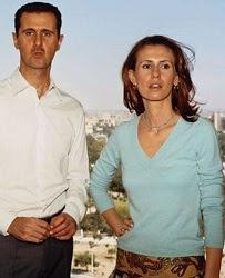 Bashar & Alma al-Assad.