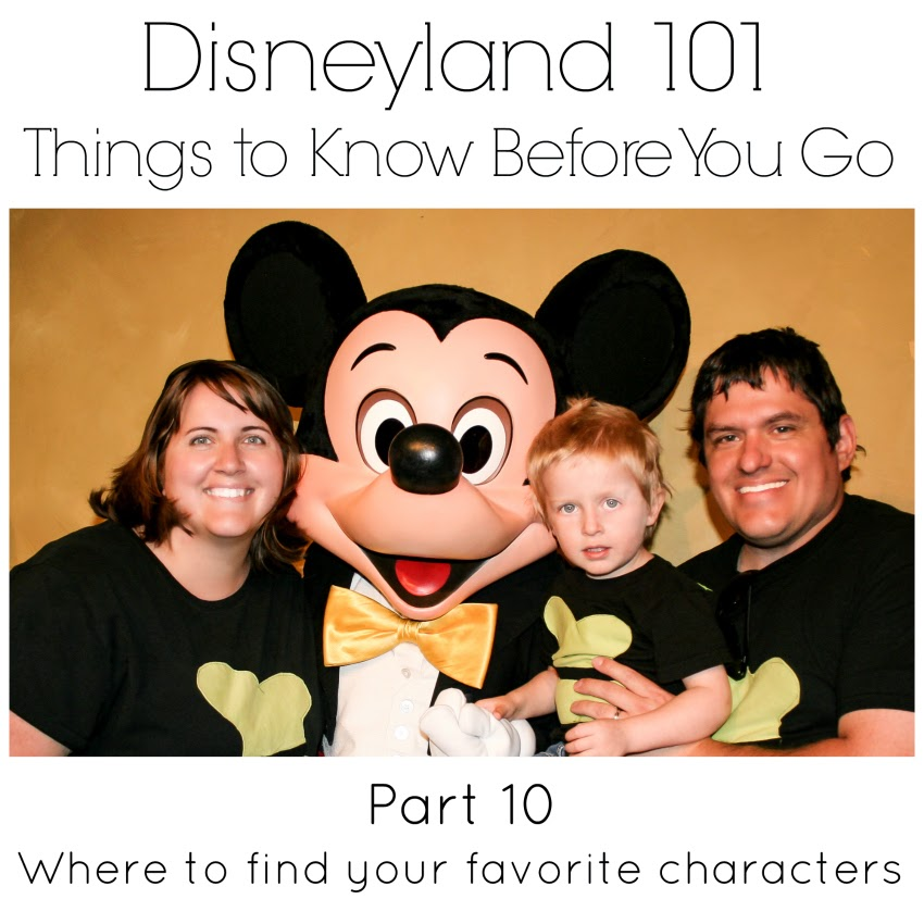 Where will you find your favorite characters in Disneyland from LoveOurDisney.com