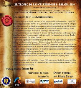 Trofeo de las Celebridades- España 2010