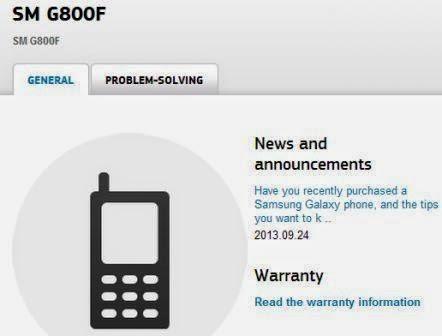 Samsung konfirmasikan SM-G800 aka Galaxy S5 Mini