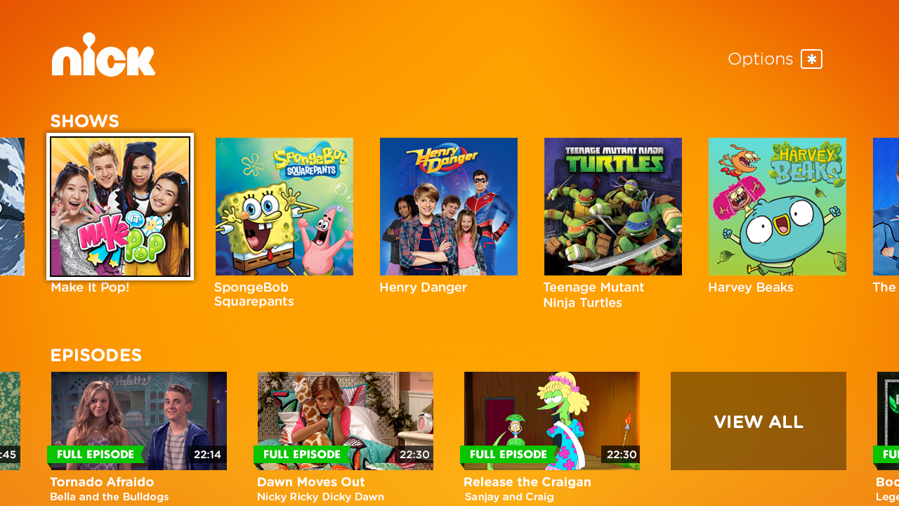 Customers who subscribe to nickelodeon through a participating cable satellite or telco provider have access to additional full episodes and extras via
