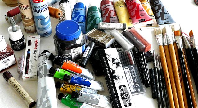 art supplies can have cancer causing ingredients
