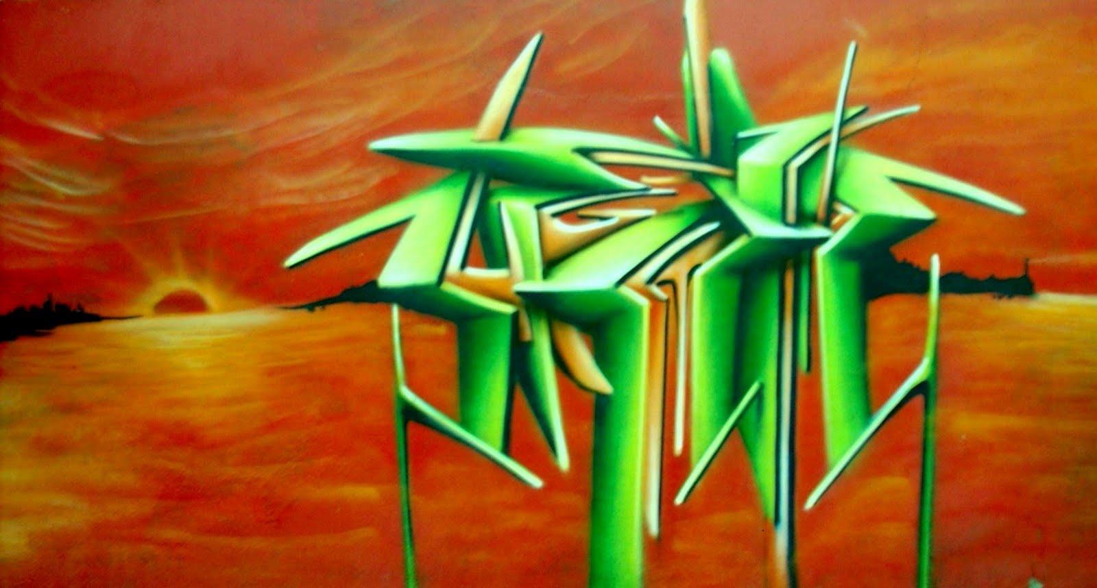 Graffiti callejero murales for Graffitis y murales callejeros
