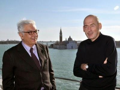 Koolhaas presenta il suo progetto per Biennale-Venezia-Architettura 2014.