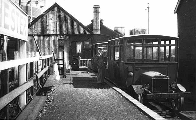 Selsey 1 Selsey Bridge Railway Station Photo Selsey Tramway. Chichester
