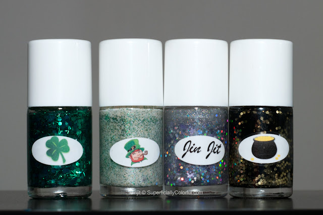 The Nail Junkie St. Patrick's Day Collection