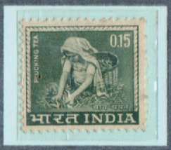 0.15 INDIA, India Postage Stamps with watermarks