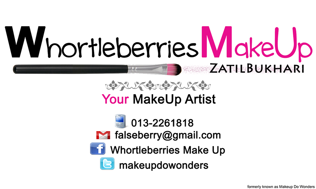 Whortleberries Make Up