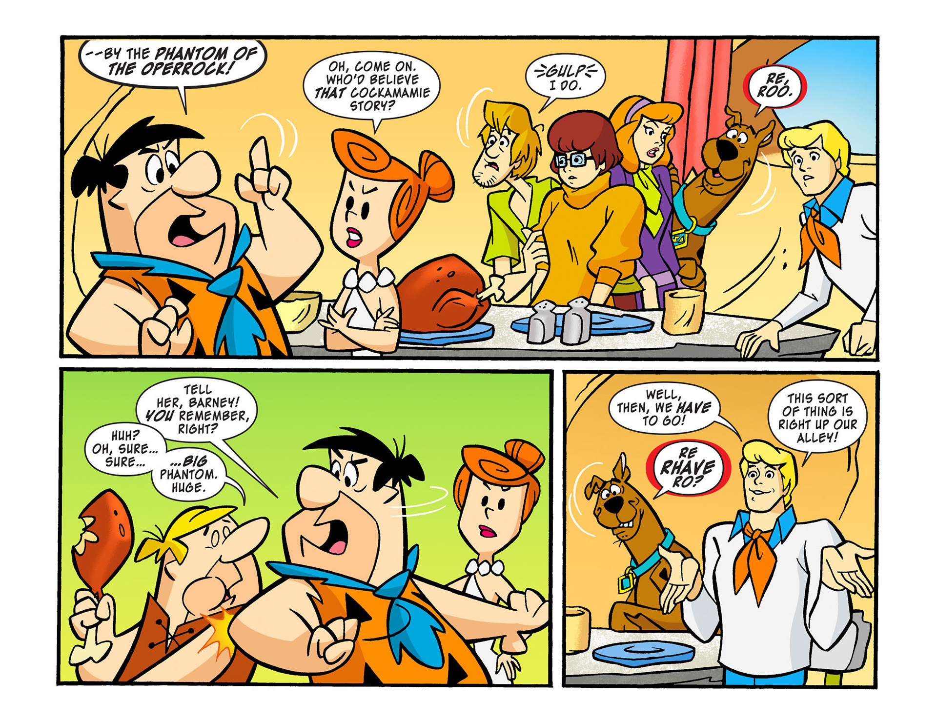 Read online Scooby-Doo! Team-Up comic -  Issue #13 - 13