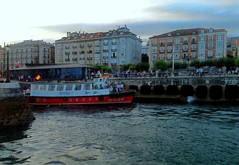 Embarcadero junto Palacete del Embarcadero de Santander