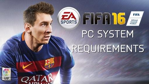 Spesifikasi FIFA 16