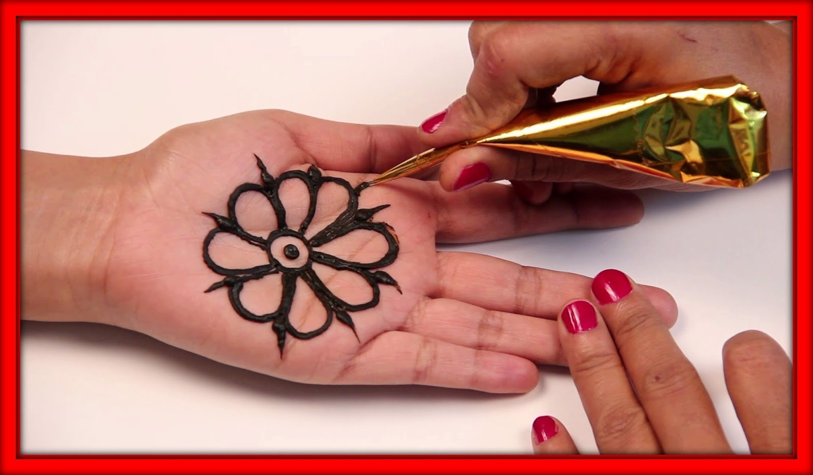 Beauty And Health Care Tips 2 Simple Arabic Mehndi Design