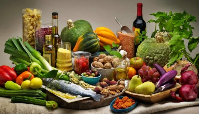 Diet Mediternia Ampuh Bantu Ringankan Depresi