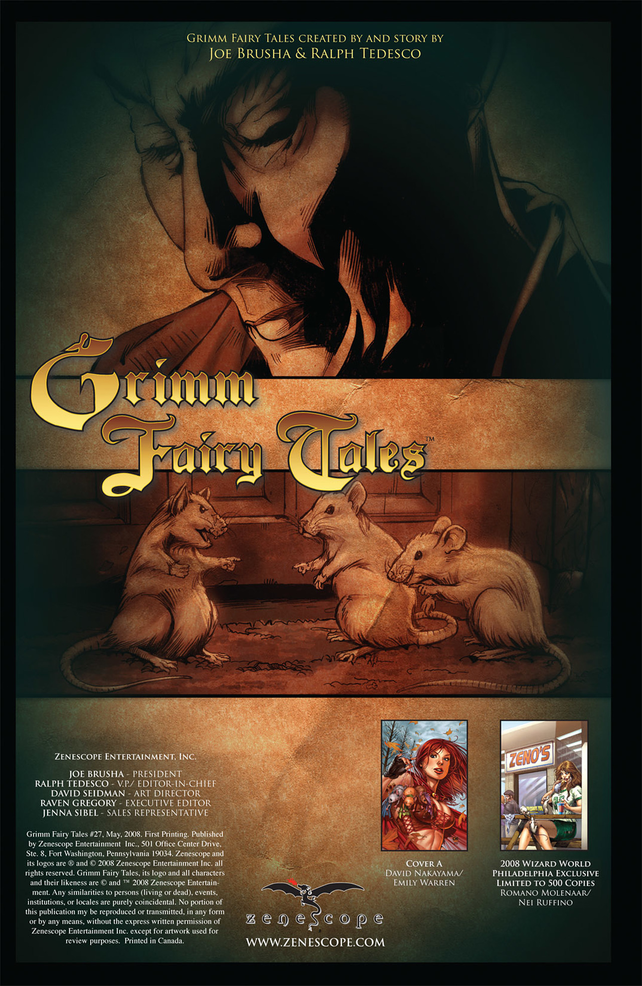 Grimm Fairy Tales (2005) Issue #27 #30 - English 2