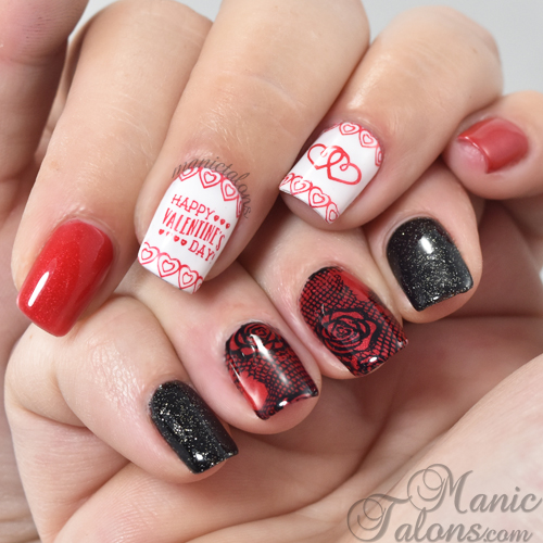 Valentine's Day and Anti-Valentine's Day Nail Art
