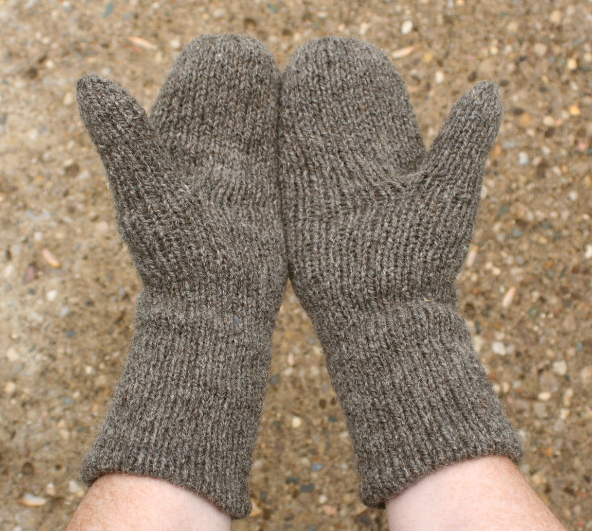 Double Knitting Pattern For Mittens Free : Same Knit Different Day: Badmittens