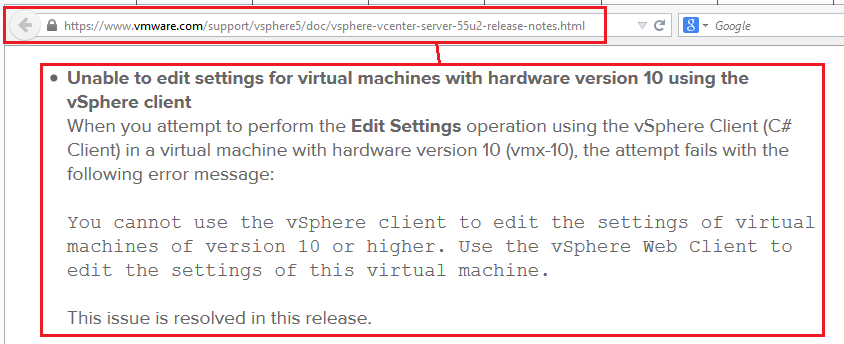 VMWare: ESXi 5.5 Update 2 - La importancia de actualizar