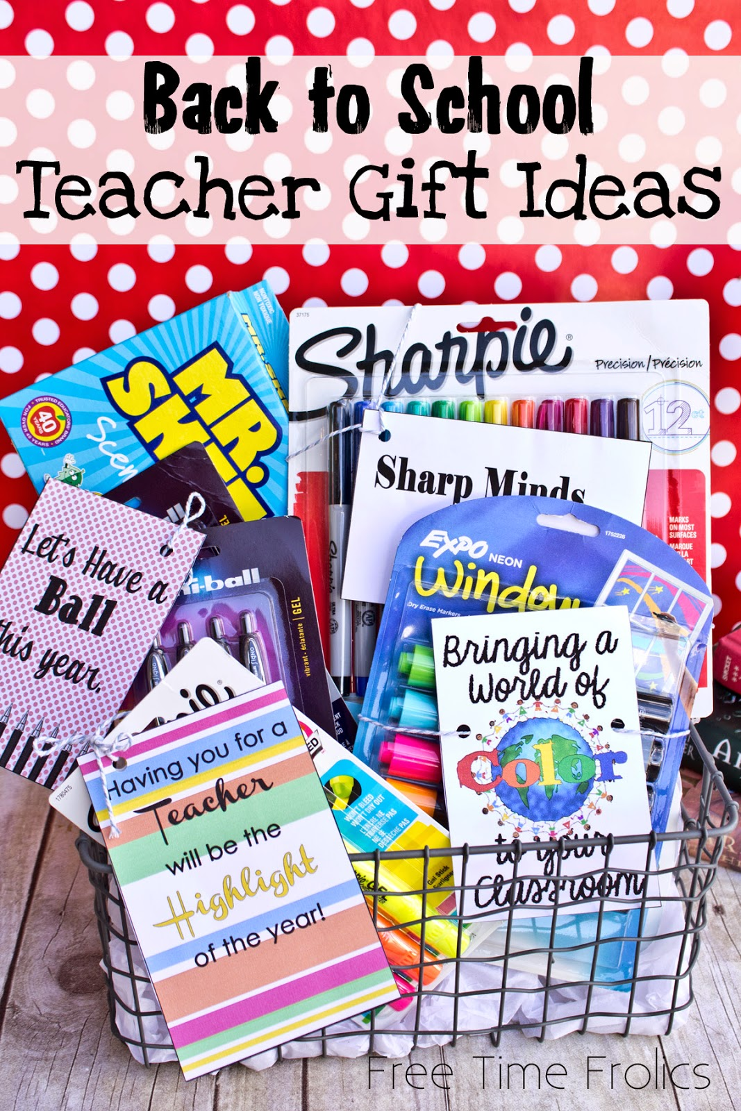 Teacher Gift Ideas www.freetimefrolics.com #inspirestudents #teacherschangelives