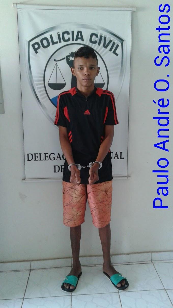 DRPC prende suspeito de assaltos e apreende dinheiro falso
