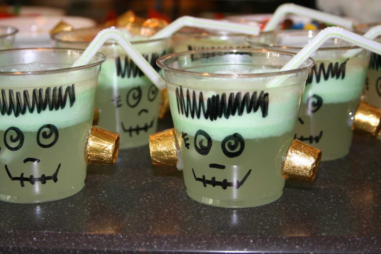 ... ...Act Normal: Frankenstein Punch [Lime Sherbert Punch Recipe