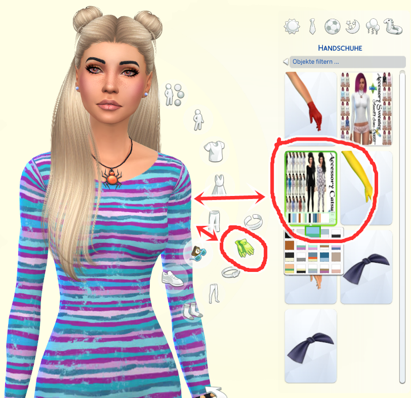Annetts Sims 4 Welt: Accessory Catsuits Favorite