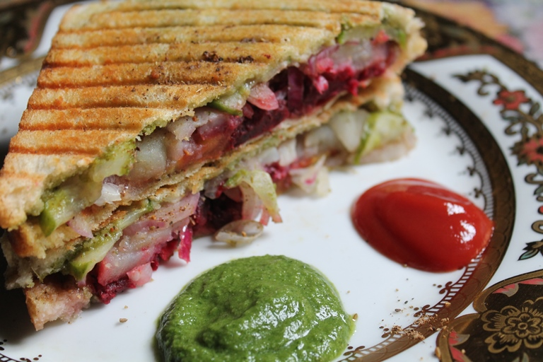 Grilled Vegetable And Anchovy Butter Sandwiches Recipes — Dishmaps