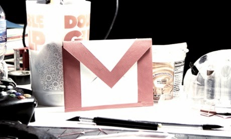 редизайн на gmail
